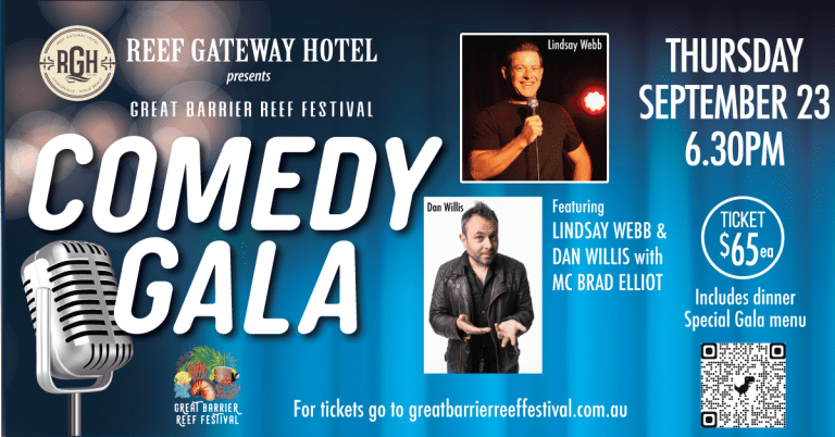 The Comedy Gala is a Go !