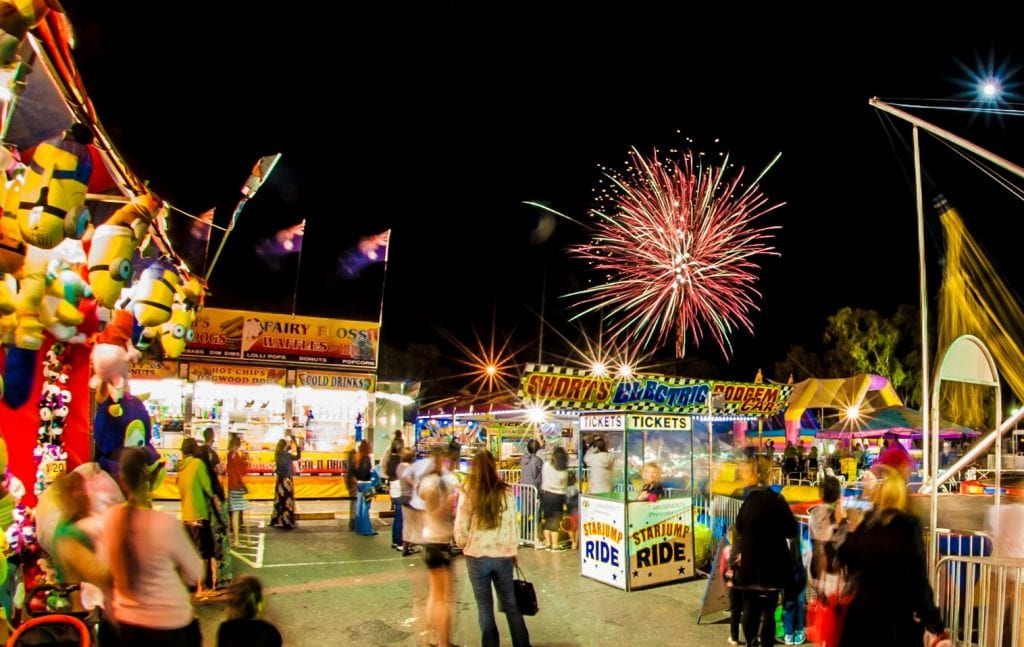 Carnival and Fireworks